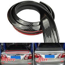 4.9ft 1.5M Carbon Fiber Style Car Rear Wing Roof Lip Spoiler Tail Trunk Trim