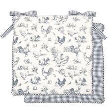 Cojines decorativos de color principal azul 100% algodón 40 cm x 40 cm para el hogar