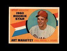 1960 Topps Baseball #138 Art mahaffey RS RC (Phillies) NM