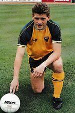 Football photo > Mickey Lewis OXFORD UNITED 1989-90