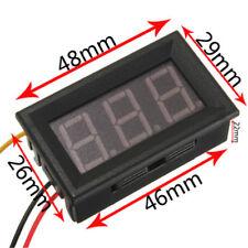 Digital Ammeter Ampermeter da pannello 0-10A Rosso