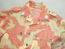Italian Post-WW2 1960s M-29 TELO MIMETICO CAMO COMBAT JACKET Vtg Coat Shirt Rare