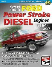 Ford Power Stroke Diesel Engine Rebuild Manual 6.0 7.3 1994-2007 (Fits: Ford)