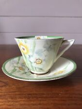 Vintage Royal Doulton Porcelain Daffodil Tea Cup And Saucer Made In England