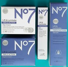 "Lift and Luminate No7's Triple Action Ultimate System ""New"" 100% Genuine"