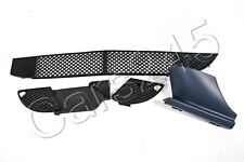 Genuine Front Bumper Grills Set +Tow Hook Primed Cover Fits MERCEDES W208 98-03