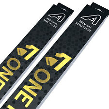 "Front Aero Flat Wiper Blades [PAIR] 18"" + 18"" V4"