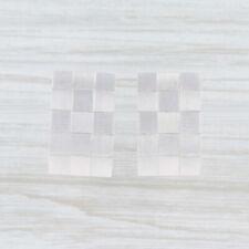 New Bastian Inverun Quadratic Earrings Sterling Silver 12795 Pierced Drop