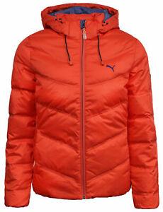 Puma Down Filled Womens Windproof Coat Puffer Jacket Red 834680 03 X3B