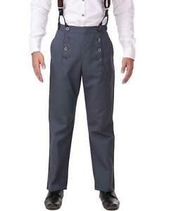 Men's Architect Pants Steampunk, finest fabric handmade one by one, very nice!!