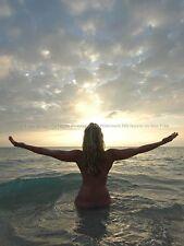 4008-SF Sunrise Yoga Nude Fine Art Photo Signed Maher