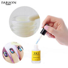 16ml Nail Art Glue Adhesive Galaxy Star Foils Decoration Transfer Tips Stickers