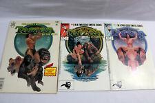Lot x3-Marvel-Tarzan Super Special Ed. No. 29 & #1-2 Limited Series Comics-#0517