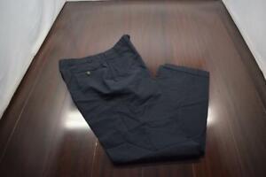 Brooks Brothers Dress Pants Brooks Cool Wool Blue Flat Mens Size 33 x 31