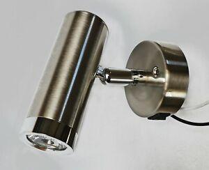 Boat Caravan Camper contemporary nickel LED spot light 12v  3.0watt bulb 913480