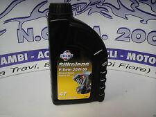 SILKOLENE V-TWIN 20W-50 minerale basata MOTO 20W50 4T MOTORE OLIO 1 LITRO 1L