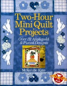 QUILTS Art & Craft Mini Quilt Projects 111 Appliqued & Pieced Designs HBDJ book