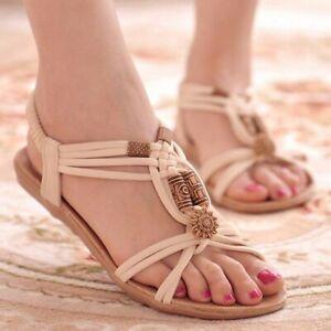 Gladiator Sandals For Ladies Summer Beach Footwear Flip Flops Comfortable Sandal