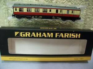 BR Stanier 2nd Brake Coach M5777M Farish No 374-826B 'N' Gauge Boxed/Unused