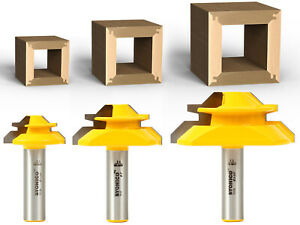 Magnate 7321 Drawer Lock Router Bits 1//2 Cutting Height; 1//4 Shank Diameter; 1-1//4 Shank Length