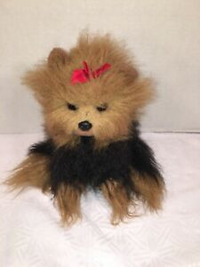 "VGUC-12"" 1997 Ty Classic Yappy Yorkshire Terrier Puppy Dog Toy Lovey"