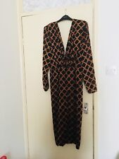 Designer Silk Dress Sizs 12 , French ,silk lining so classy .