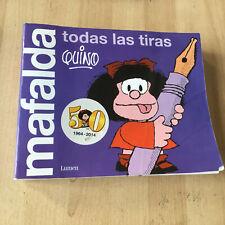 BD MAFALDA en espagnol - Quino - Todas las tiras (edición limitada 1964-2014)