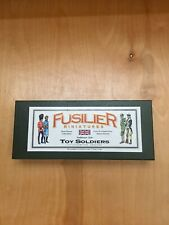 Fusilier Miniatures Toy Soldiers Hand Painted Solid Metal WW2 6 Pcs New In Box