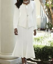 Mother of Bride Groom Women's Wedding Evening party dress Skirt Suit size10M$170