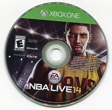 NBA LIVE 14 2014 Video Game!!! XBOX ONE Played 2x