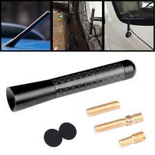 1x Nice Black 8cm Car Antenna Aerial Stubby Bee Sting For VW Golf MK3 MK4 MK5
