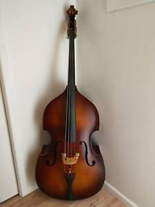 3/4 Double Bass (2013) plus $500 in accessories (gig bag, travel wheels)