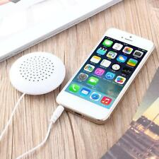 Mini White 3 5mm Pillow Speaker For Apple iPhone iPod CD Radio MP3 MP4 Player