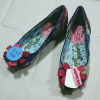 Irregular Choice Red Nose Roo Womens Ladies Light up Christmas Shoes Size 4-6.5