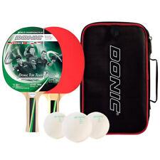 Donic Schildkrot TT-Bat equipo superior 400 conjunto de 2 jugadores shakehand mesa raqueta de tenis