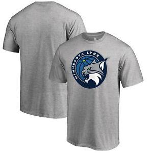 Minnesota Lynx Fanatics Branded Primary Logo T-Shirt - Heathered Gray