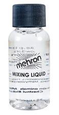 MEHRON 4.5 OZ MIXING LIQUID MAKEUP BASE METALLIC POWDER DRY PIGMENT COSTUME DD03