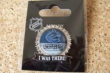 2015 Stanley Cup Playoffs I Was There pin NHL SC Vancouver Canucks