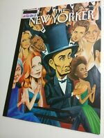 The New Yorker Magazine 2/25/13 Abraham Abe Lincoln cover, Syria After Assad? NM