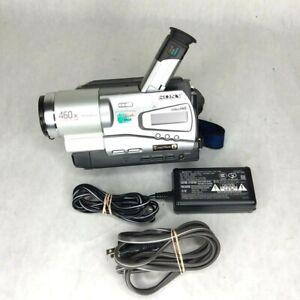 Sony Handycam CCD-TR818 HI8 8mm Camcorder VCR Player Video Transfer  READ Desc.
