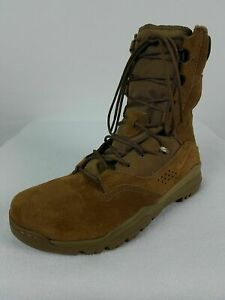 """Nike SFB Field 2 8"""" Tactical Boots Men's 10.5-12 Coyote Brown Leather AQ1202-900"""