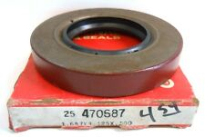 """NATIONAL OIL SEAL, 470687, 1.687 X 3.125 X 0.500""""  NITRILE RUBBER"""