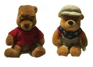 "(2) Vintage Winnie The Pooh 10"" Plushies"