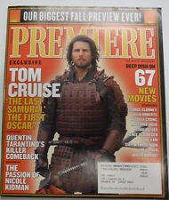 Premiere Magazine Tom Cruise & George Clooney September 2003 031015R