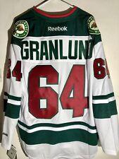 Reebok Premier Nhl Jersey Minnesota Wild Mikael Granlund White sz Xl