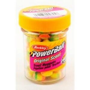 Berkley PowerBait Trout Bait Nuggets Original 1.1 oz~Choose Color~FREE Ship