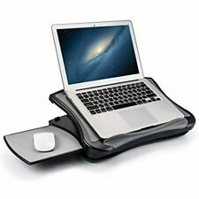 Max Smart Laptop Pad Stand With Attached Mouse Pad Cushion Usb Cooling Fan For