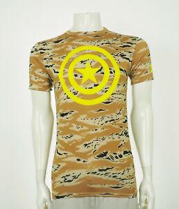 Under Armour Captain America Compression Tech Shirt Mens Large