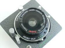 Super Topcor 65mm /f 7.0 lens, Seiko shutter & Horseman lensboard (903178)