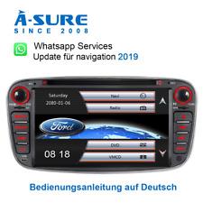 2020Navi Autoradio DVD GPS USB Lenkrad für Ford Focus C-Max Mondeo Galaxy DAB+